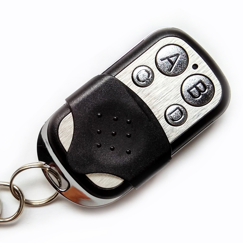 Portable 433mhz Garage Door Remote Control Presentation Universal Car Gate Cloning Rolling Code Remote Duplicator Opener Key Fob