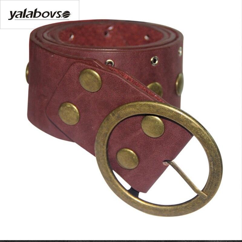 Yalabovso 2017 New Novelty Vintage Solide Color Fashion Irregular Size Adjustable Waist Sealing Belt For Woman A50-PD-007 Z30