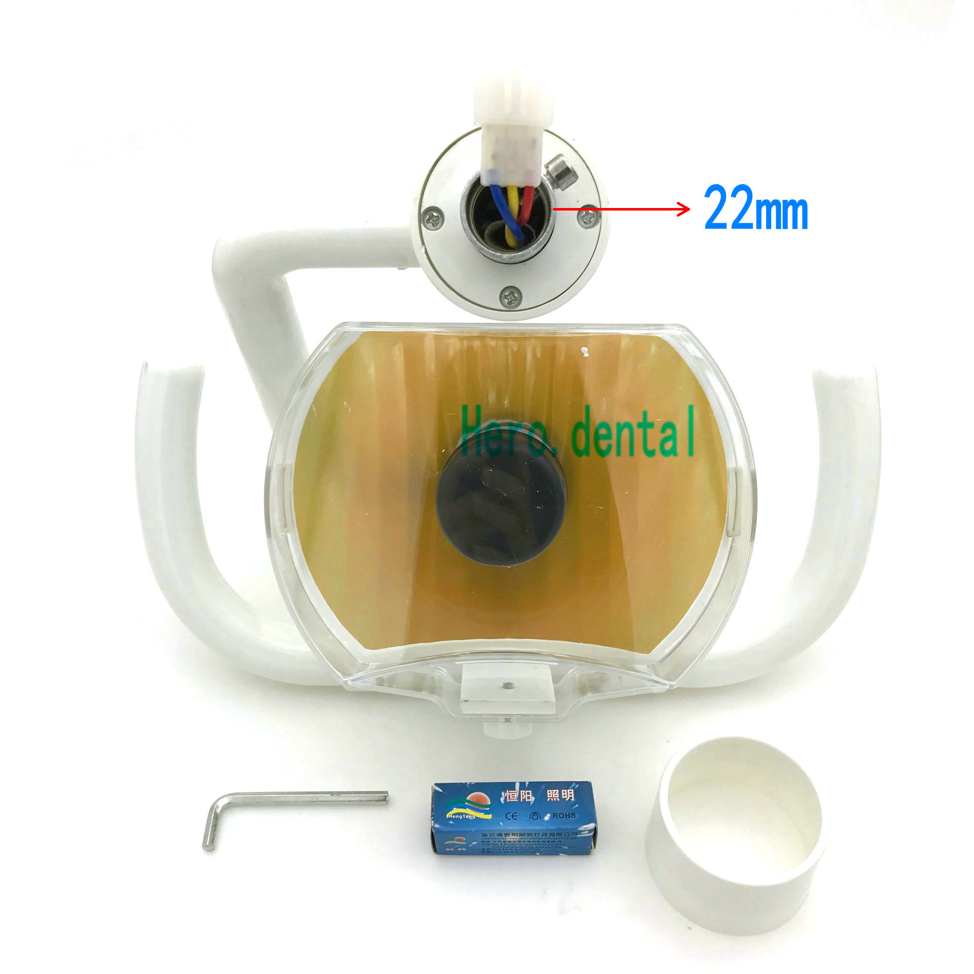 Зубные лампы 22 мм бортовые огни стоматологического кресла, аксессуары