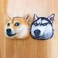 Novelty coin purses Cute Dog Cat Face purse girl Coin womens Purse cheap kids Wallet Buggy Bag Pouch Bag small wallet children