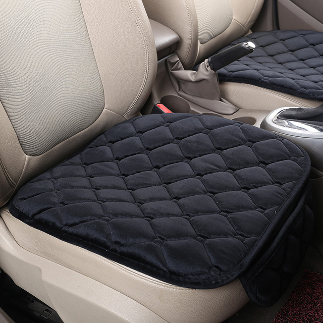New Universal Velvet Car Seat Cushions Single Cushion Covers For All Sedan