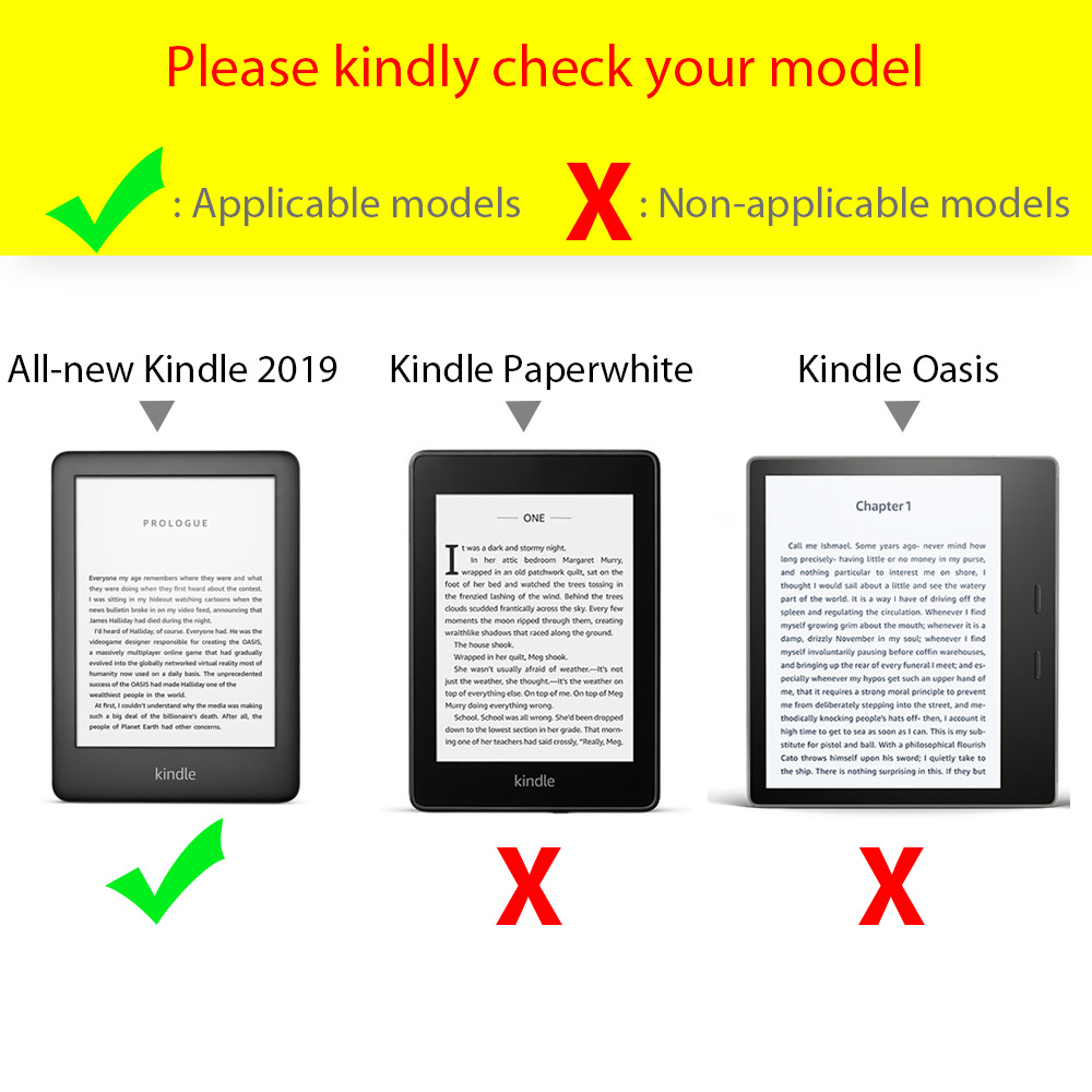 FLASH SALE] cover case for Amazon All new kindle 2019 with