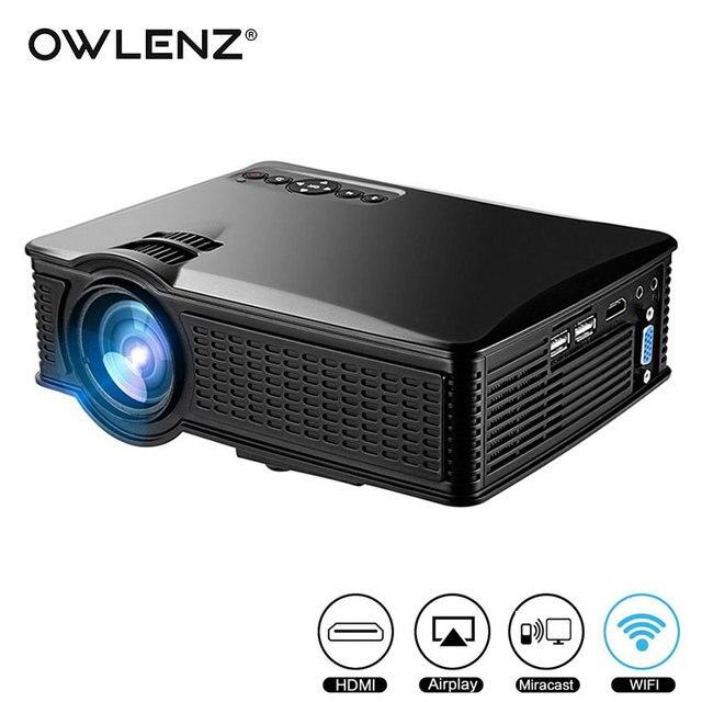Fuleadture Portable Led Projector 1080p Hd Multimedia: Aliexpress.com : Buy OWLENZ SD60 Multi Screen Mini
