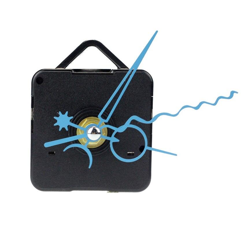 Nuttig Hoge Kwaliteit Blue Quartz Wandklok Movement Mechanism Handen Diy Repair Vervanging Dropshipping Verfrissend En Weldadig Voor De Ogen