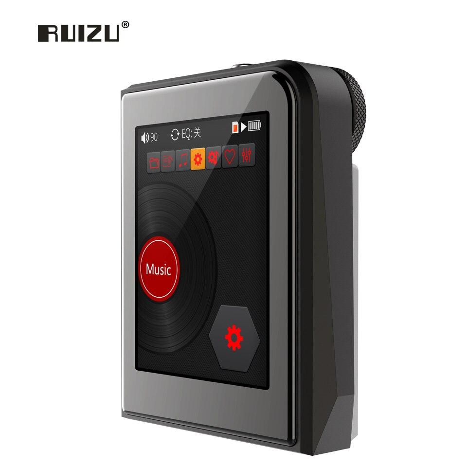 RUIZU A50 HD dur sans perte DSD256 Mini Sport lecteur MP3 avec 2.5 pouces écran Hifi musique Support 128G TF carte