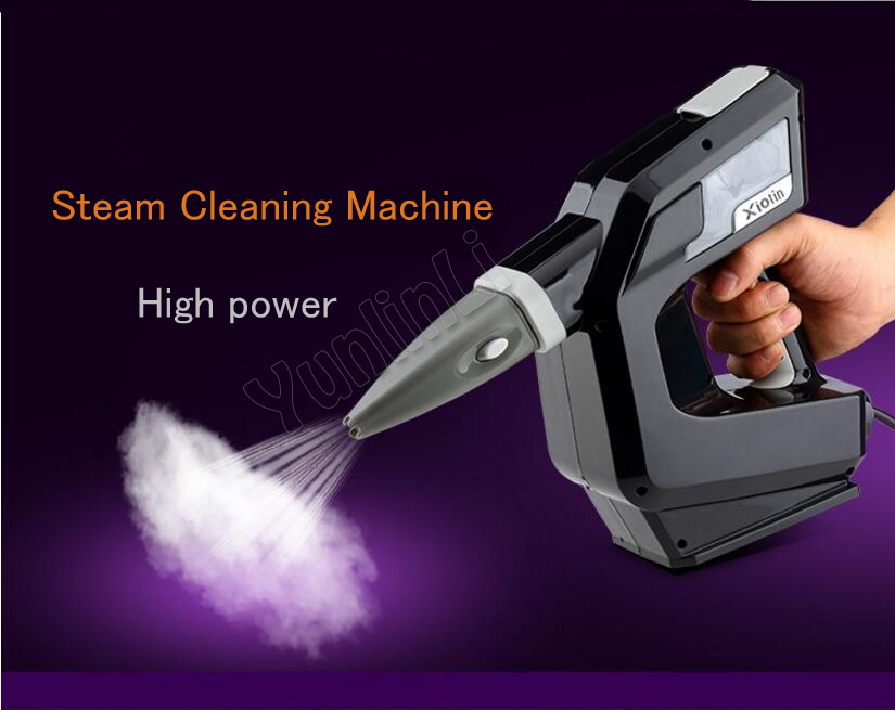 Handheld Steam Cleaning Machine Powerful Mutil Nozzles Steam Cleaner High Temperature Sterilization Cleaning Machine 7348CH 220v high temperature and high pressure cleaning machine disinfector sterilization steam cleaning machine a 02 1800w