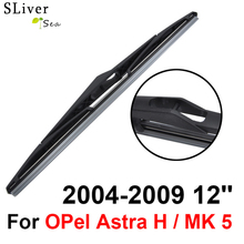 Rear Wiper Blade No Arm For OPel Astra H / MK 5 2004-2009 12'' High Quality Iso9001 Natural Rubber C6-30 цена