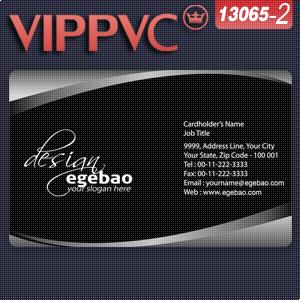 a13065-2 business cards cheap Template for Card Design of PVC Card