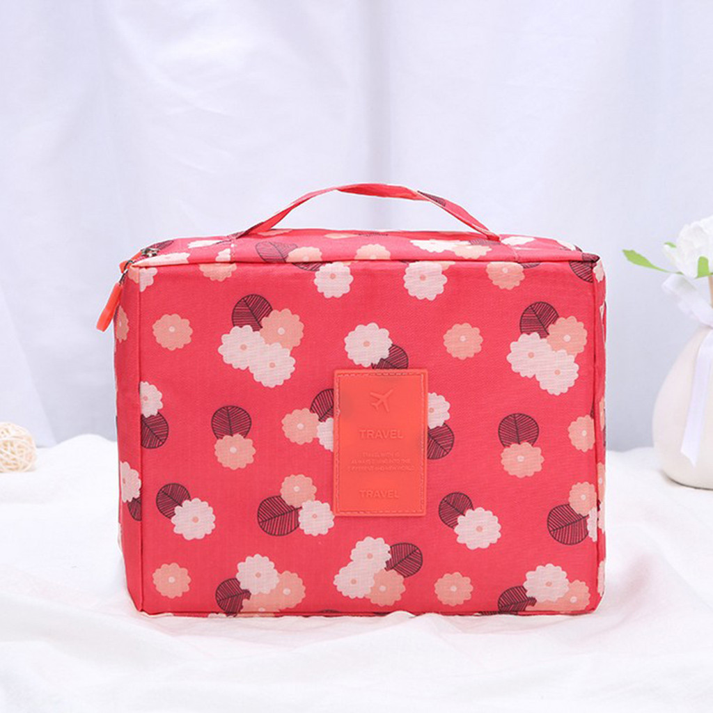 Image 3 - Makeup Storage Bag Travel Wash Bags Multi Functional Cosmetics Bag Multi Purpose Travel Storage Pouch Organizer Storage Box-in Storage Bags from Home & Garden