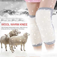 A piece keep warm kneeling Wool thickening elastic knee protector Suitable for both men and women in winter knee pads