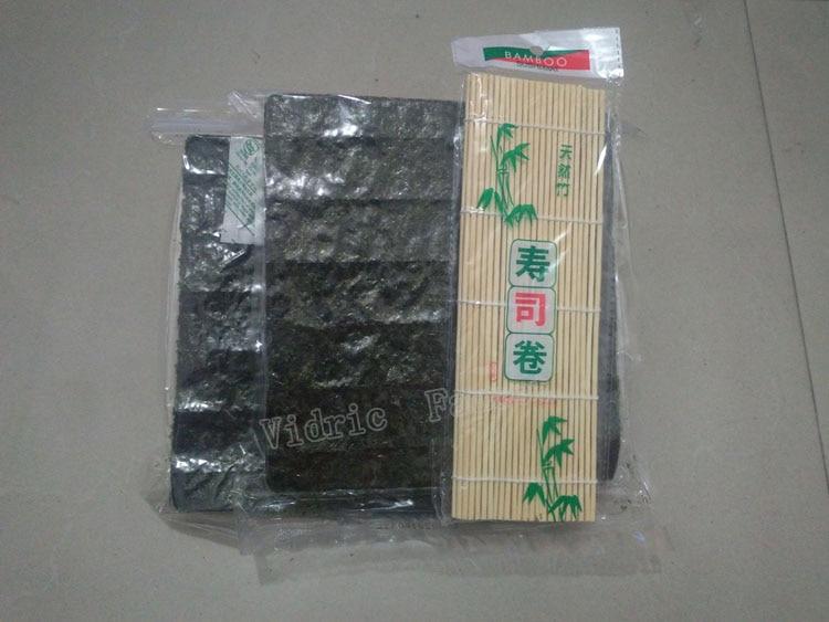 100 шт. Nori морские водоросли для суши + бесплатный инструмент, сушеные водоросли Nori для суши, оптовая продажа, высококачественные водоросли нори-1