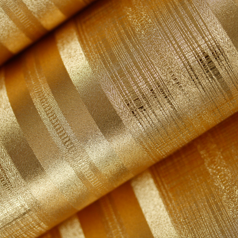 купить Bacaz Gold Foil Stripe Solid Texture Wallpaper Rolls 3D Papel Parede 3d wall paper Roll for Living Room 3d Wallcoverings по цене 3049.01 рублей
