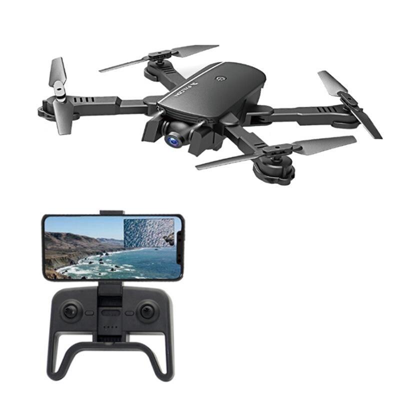 Складной Квадрокоптер с дистанционным управлением, Wi-Fi FPV 1808, камера с широким углом обзора 4K, режим удержания высоты, RTF