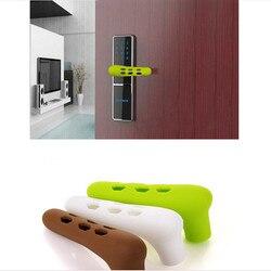 Klamka do drzwi z silikonowym rękawem Cartoon Baby ochrona przed zderzeniem z dzieckiem Suite uchwyt do holowania drzwi rękawice Protector akcesoria domowe|Szyldy do klamek|Dom i ogród -