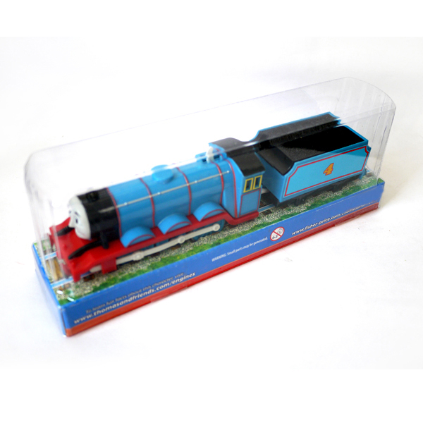 T0b Electric Thomas and friend Gordon wtih a carriage Trackmaster engine Motorized train Chinldren kids toys with package