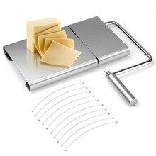 Сырная ломтерезка-разделочная сервировочная доска для твердого и полутвердого сыра или масла, 10-Pack Замена нержавеющей стали резки проволоки