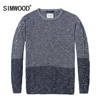 SIMWODD Brand Clothing 2016 New Autumn Winter Granny Chic Sweater Men Fashion Christmas Pullovers 100 Cotton