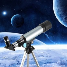 цена на monocular f36050 Astronomical Telescope 360x50 Refractor Telescope With Portable Tripod Exploration Gifts Toys for Kids Adults