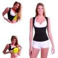 1 ШТ. Размер S-XL Женщина Леди Реду Талия Бюст Shaper Shirt Neoprene Slimming Thermo Cami Cinchers