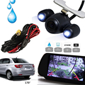 Black Waterproof Night Vision 420 TV Lines CMOS Car Rear View Backup Camera Support NTSC / PAL With 2G Wireless Receiver 12V