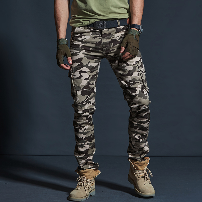 Vomint Men's Military Style Cargo Pants Men  Waterproof Breathable Male Trousers Joggers Army Pockets Casual Pants Plus Size