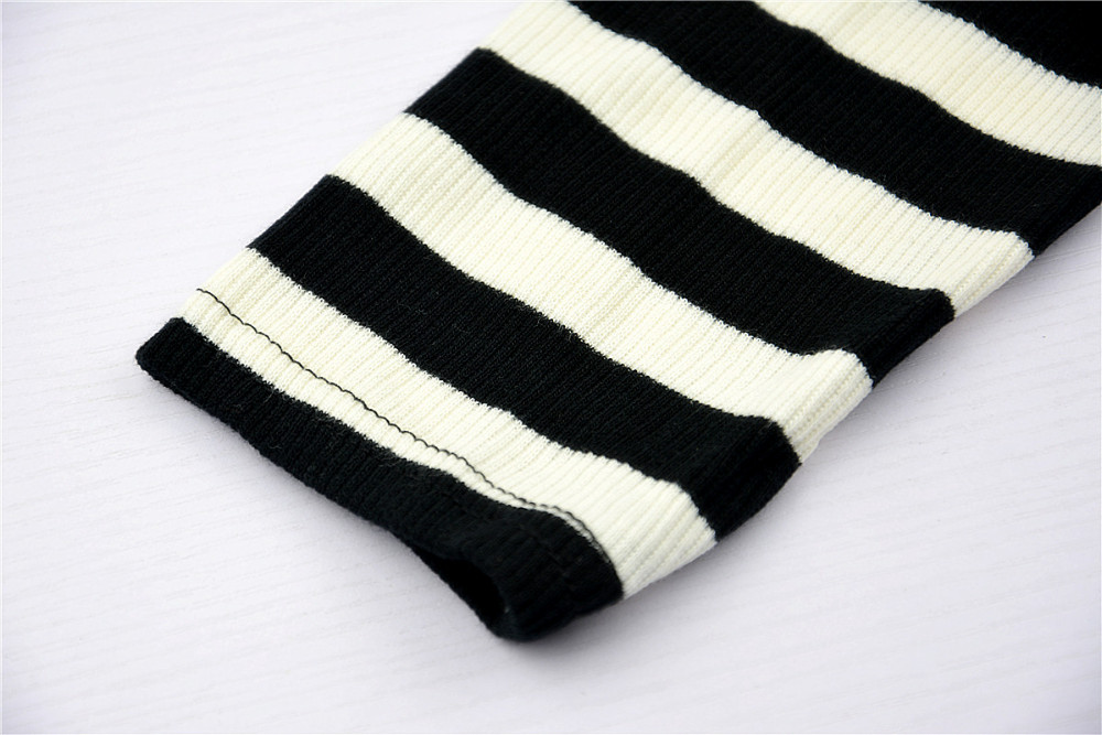 HTB1bMnDJXXXXXayXVXXq6xXFXXX7 - Blusa black white striped blouse shirts long sleeve