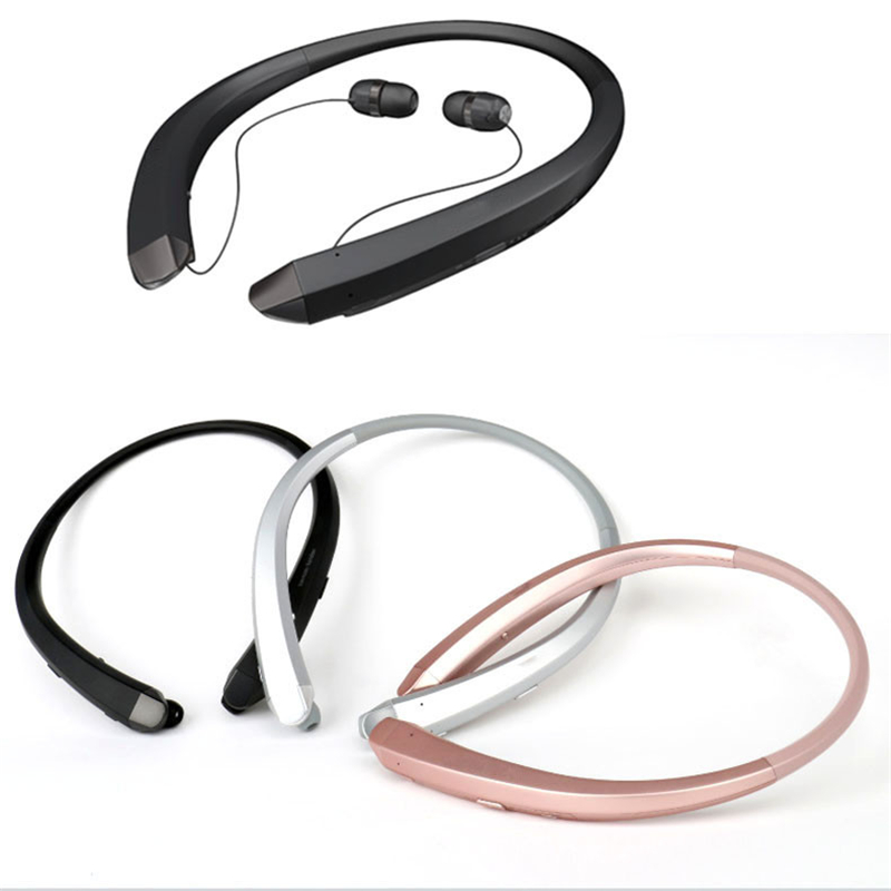 HBS-910 Earphone Neckband Sport Headset With Mic Wireless Headphones Bluetooth Handsfree Stereo OEM For LG Iphone Samsung Xiaomi dacom carkit wireless bluetooth headset earphone with mic car charger for apple iphone 7 plus airpods android xiaomi samsung lg