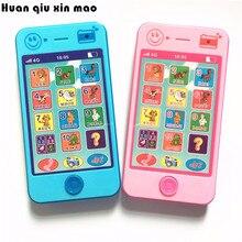 Детский телефон, Детский обучающий музыкальный мобильный игрушечный телефон, последняя версия русского языка, детский игрушечный телефон
