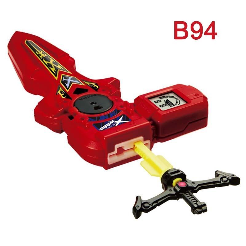 2 colores Kai Watch Land lanzador juguetes Arena Bayblade con mango para Bey blade explosión Spinning Top Bey Blade cuchillas Juguetes # E