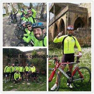 Image 3 - WOSAWE Autumn Cycling Jerseys Men Bicycle Sportswear Breathable Cycle Downhill MTB Reflective Long Sleeve Clothing Bike Shirts