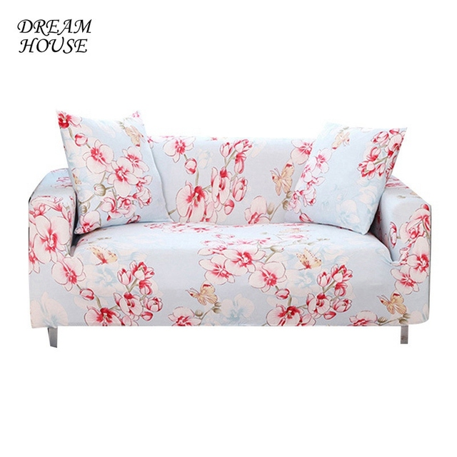 Terrific Us 18 57 35 Off 1Piece Elastic Couch Covers Living Room Slipcovers Soft Sofa Covers Skin Friendly Slipcovers Furniture Protector Size S Xl In Sofa Uwap Interior Chair Design Uwaporg