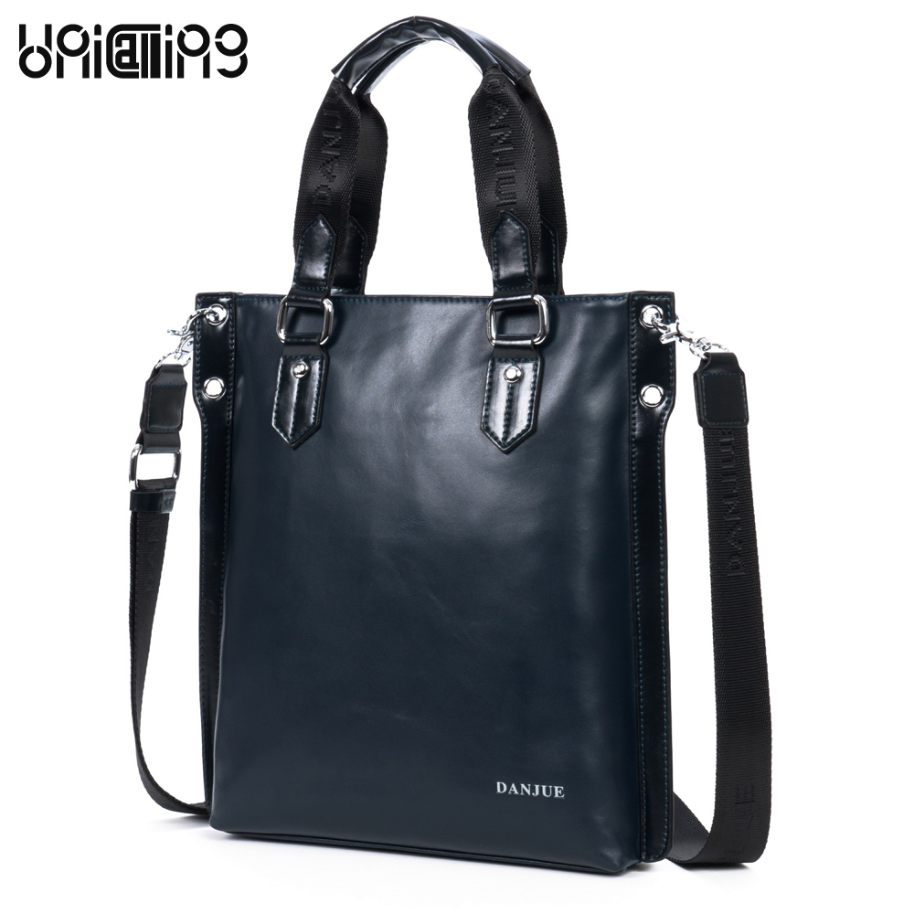 UniCalling men's genuine leather handbags Brand men bags fashion casual shoulder bag Messenger bag men's leather bag unicalling brand men genuine leather bag