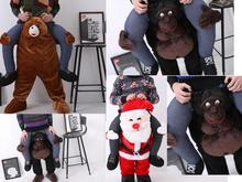 NEW Carry Me Ted Bear/Santa/Orangutan Mascot Sumo Ride On Fancy Dress Funny Costume Costume Animal Funny Fancy Dress Pants