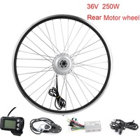 E Bike Conversions Electric Wheel for a Bicycle 36V 250W Rear 2026Bike Electric Hub Motor Wheel Electric Adult Motorcycle
