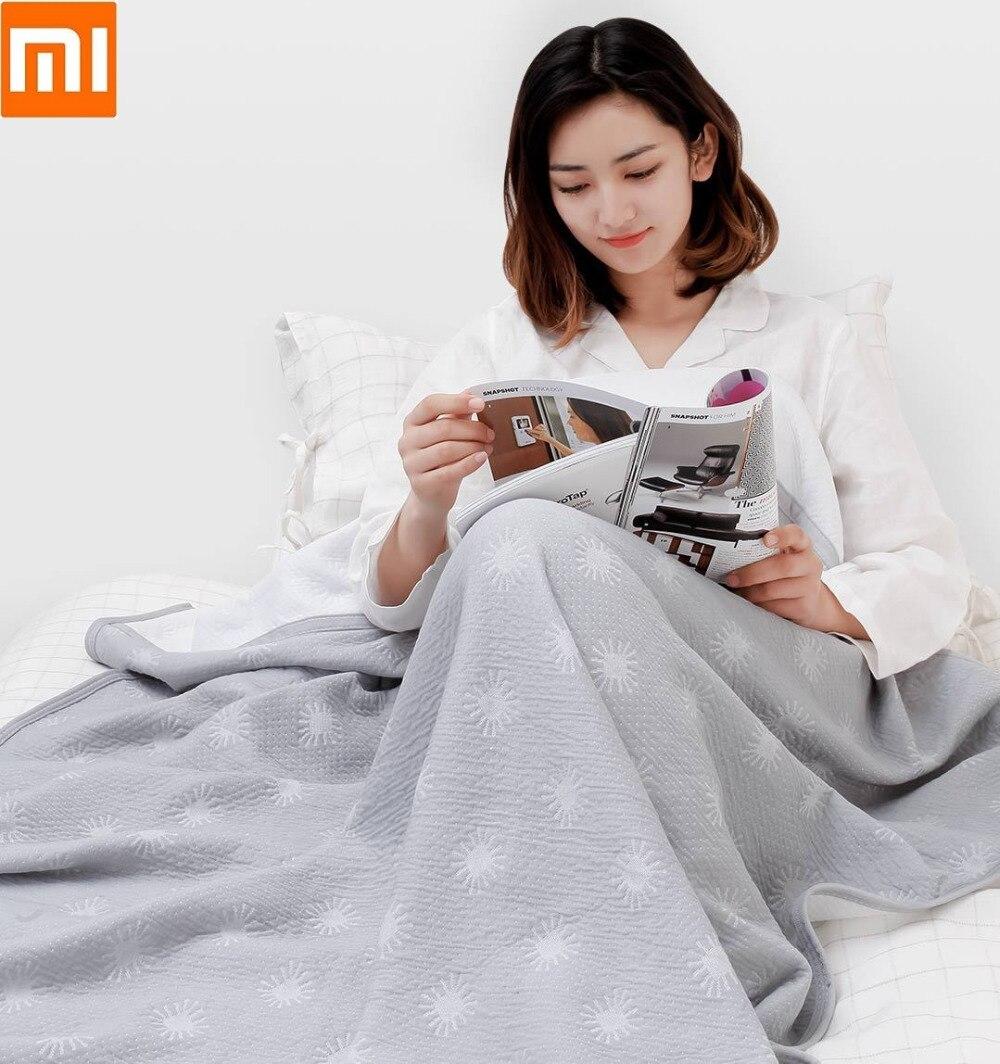 Xiaomi mince couette refroidissement fibre Cool sec respirant literie couette couverture couvertures douces pour adulte enfant été maison