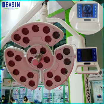Good quality Dental Medical shadowless LED lamp with 26 leds for surgical operation with special support lamp arm