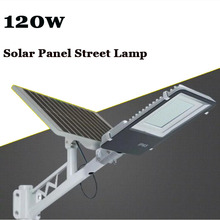 10PC 120W Solar Powerful Remote Control Solar LED Street Lamp Road Light Outdoor Waterproof Garden Path Spot Wall Emergency Lamp 5pcs remote control solar panel powered road light 20w 30w 50w led street light outdoor garden path spot wall emergency lamp