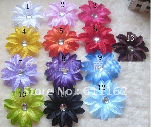 Лилии цветок волос Детские волосы украшают цветок Детские Волосы Девушки банты 60 шт
