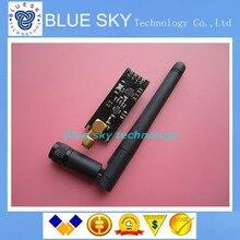 2 ssets/lot Беспроводной Модуль NRF24L01 + PA + МШУ с Антенной 1000 М Long Distance новый через Китай сообщение
