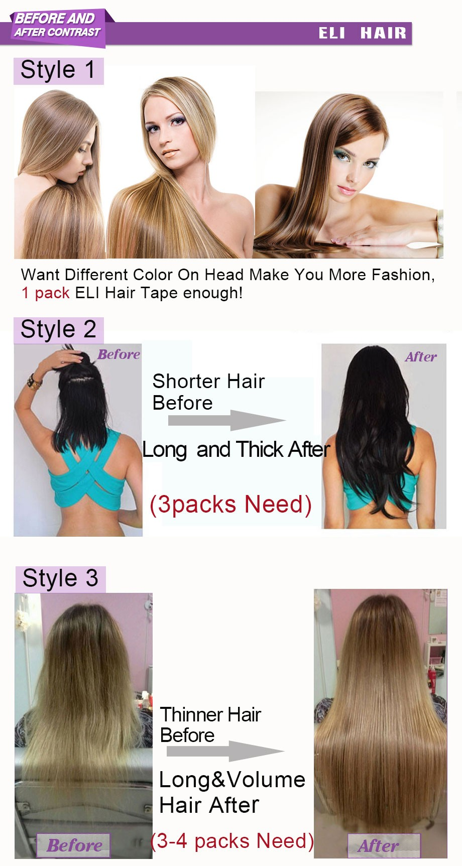 clip in human hair extensions 10