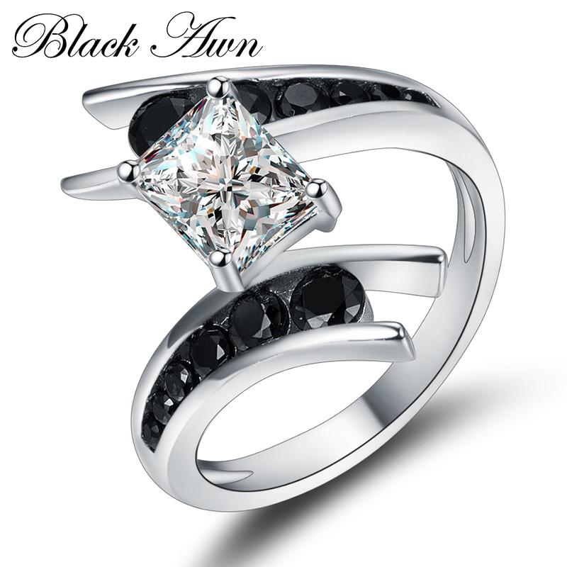 CZARNA AWN Fine Jewelry 5.1 Gram 100% Oryginalna 925 Sterling Silver - Wykwintna biżuteria - Zdjęcie 4