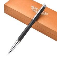 Купить онлайн Хит продаж герой 1063 # натуральной тонкой financia ручка студент каллиграфия пера Книги по искусству авторучка 0.38/0.5/0.8 мм дополнительно gift box set