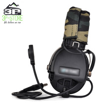 Tactical-Headset Aviation Airsoft Earphone Shooting Military-Wargame Sordin WZ111 Noise-Reduction