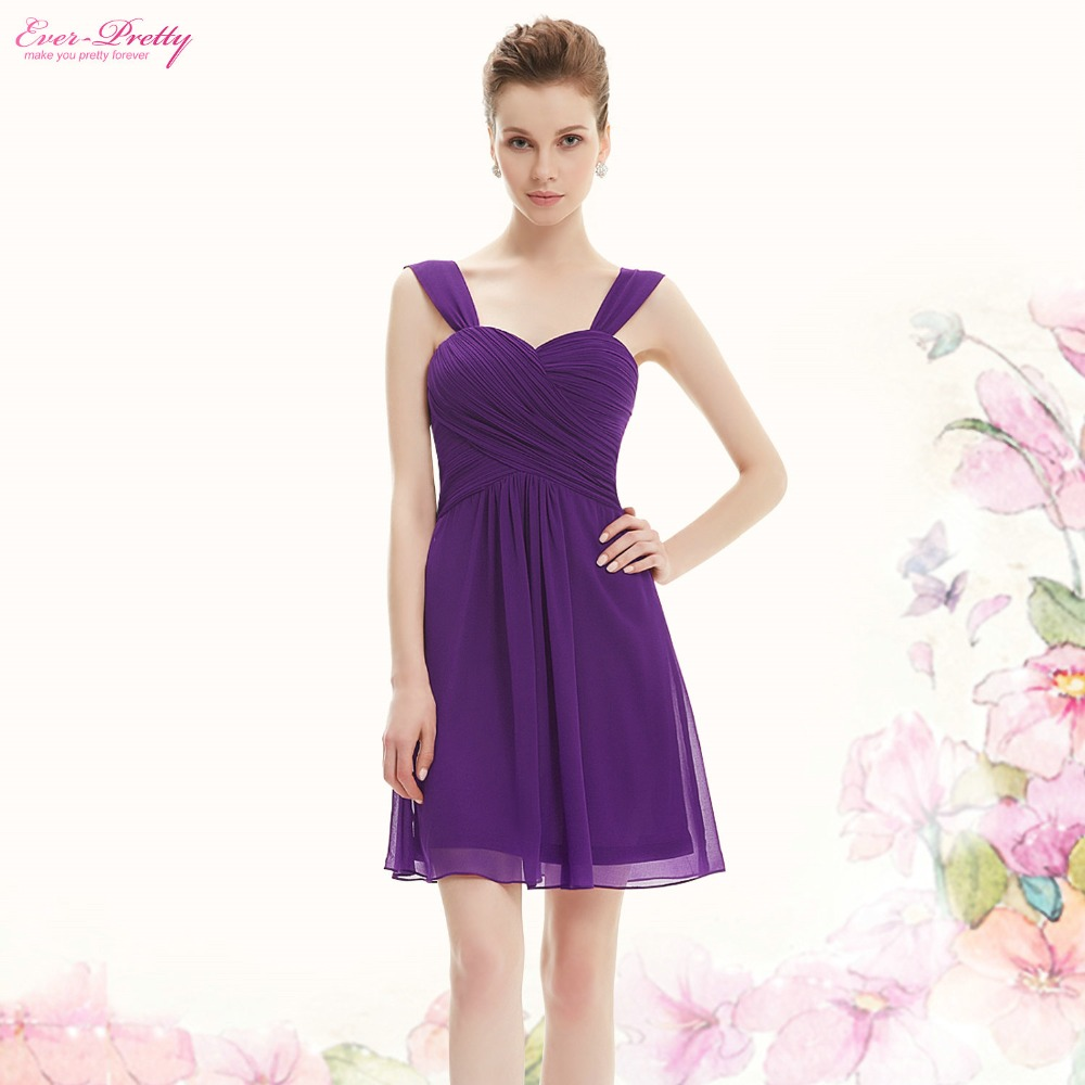 Bridesmaid Dress Ever Pretty HE03539 Elegant Ruffles Padded Chiffon Wedding Events Dresses 2017 In From Weddings On