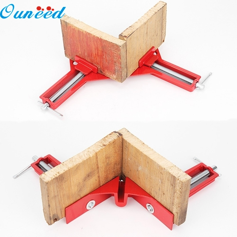 Ouneed Home Woodworking Hand Kit 90 Degree Right Angle Picture Frame Corner Clamp Holder 1 Piece