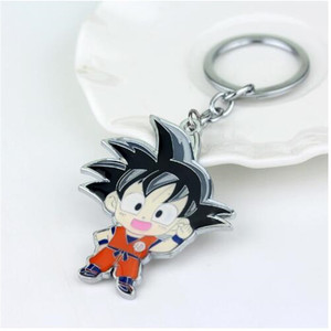 Hot Seller Julies Wholesale Anime Dragon Ball Keychain Z Son Goku Metal Key Chains Pendant Key Chain Chaveiro Keyring Men Jewelry S — bequmcmvl