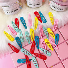 30 Pack color ins girl heart hairpin candy ice cream BB clip word