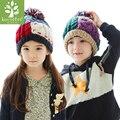 2017 Limited Top Fashion Winter Hat Korea Kk Tree Pure Handmade Children's Hat Winter And Warm Children Knitting Cap Autumn