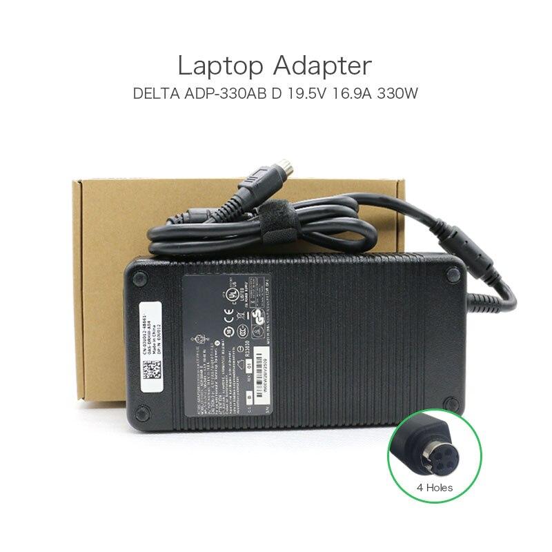 все цены на 100% Original 19.5V 16.9A 4 Holes 330W Delta Laptop AC Adapter ADP-330AB D For MSI GT80 2QE-021FR Titan SLI Gaming Notebook