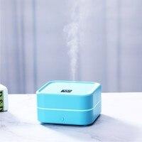 100ml caixa usb aroma difusor de óleo umidificador ar ultra sônico aromaterapia umidificador elétrico led luz névoa maker para casa